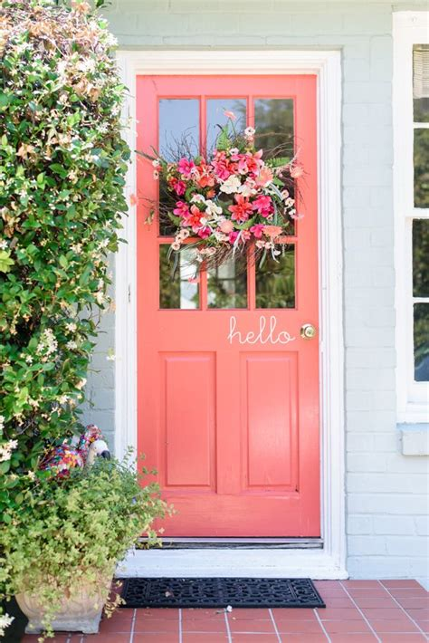 colored front doors best 25 colored front doors ideas on front