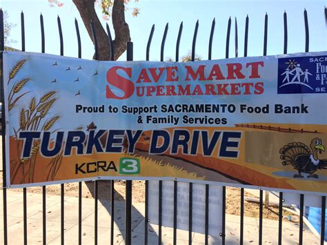 Daly City Food Pantry by Save Mart Lucky Stores Hold Turkey Drives The Save