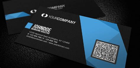Free Business Card Template With Qr Code by Qr Code Vcard Generator Yeblon