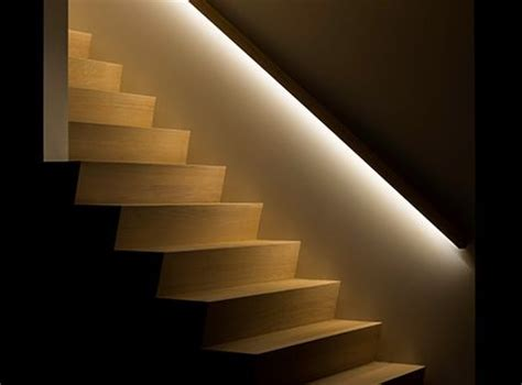 Banister Lights by 169 Deco Trap Railing With Led Lighting 2 Stair