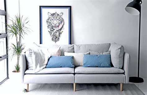 Home Design Story Hacks Ikea Soderhamn Sofa Slipcovered In Herringbone Pebble Sofa