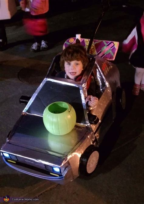 future marty mcfly  delorean halloween
