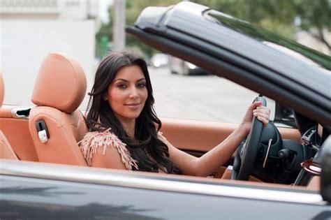 maserati celebrity kim kardashian cruisin in her maserati in miami zimbio
