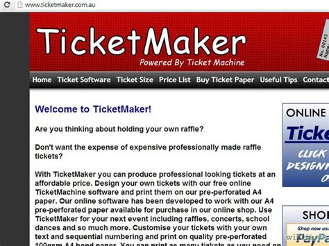 print your own tickets template photo print your own tickets template free images