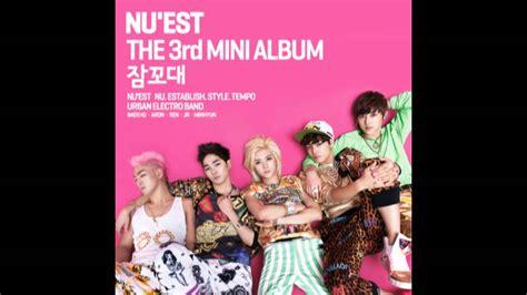 nu est sleep talking 3rd mini album