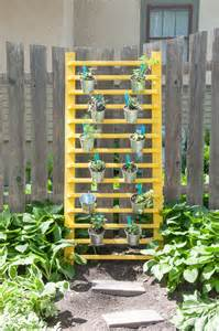 Diy Vertical Herb Garden How To Diy A Vertical Herb Garden For 100