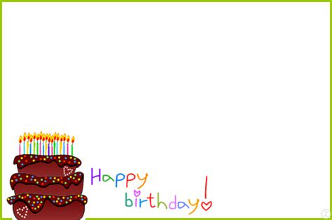 Birthday Card Frames Free Birthday Cards Ideas Birthday Card Picture Frames