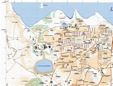 managua nicaragua map managua partial map nicaragua 1