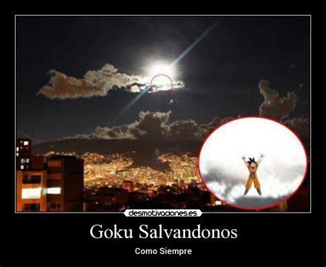 imagenes de goku que den risa goku salvandonos desmotivaciones