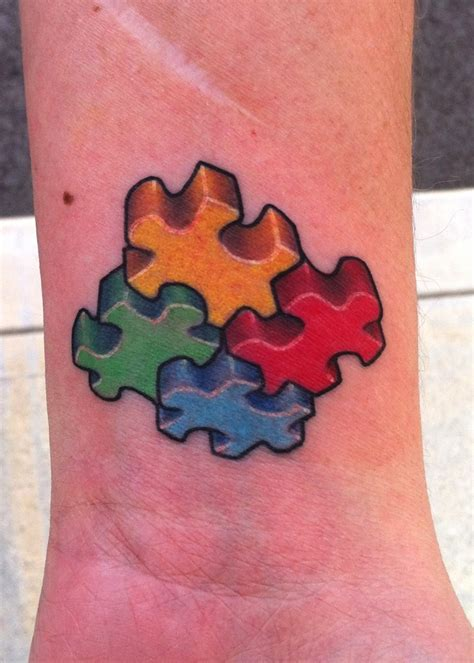puzzle piece tattoo meaning autism tattoos designs ideas and meaning tattoos for you