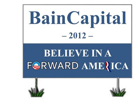 Bain Capital Post Mba by Presidential Endorsement Is Obama V Romney Our Only
