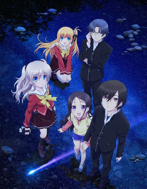 charlotte anime air date visuals episode  preview