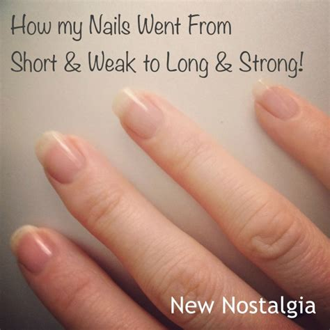 biotin after 3 months nail growth how my nails went from short weak to long strong using