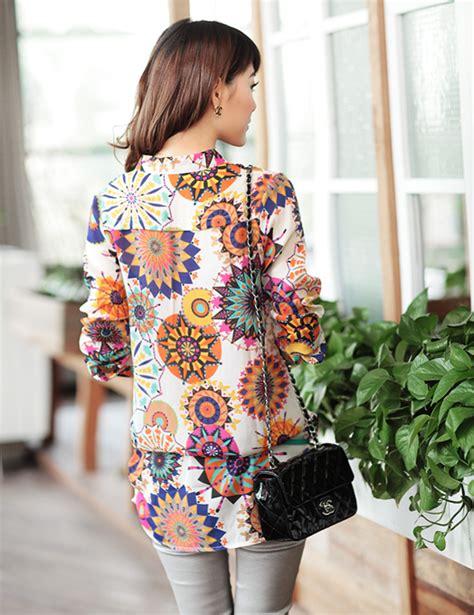 Kemeja Motif Cowok Eighty Eight Lengan Panjang kemeja wanita lengan panjang motif import model terbaru jual murah import kerja