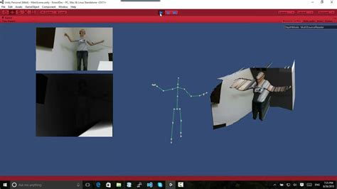 unity tutorial moving objects gesture control with kinect and unity made easy 2p start