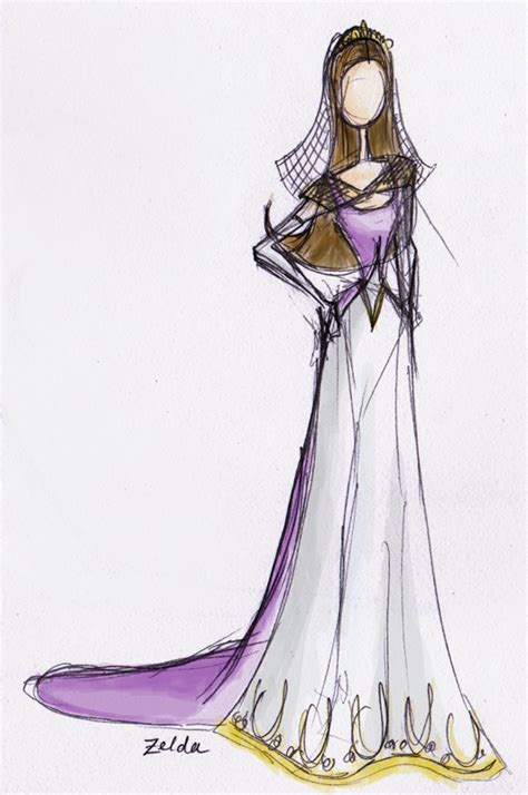 zelda design dress zelda wedding dress by nhathy on deviantart