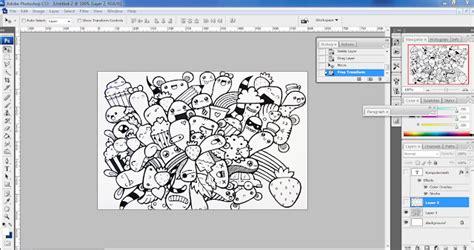 cara membuat doodle name tutorial membuat doodle nama dengan photoshop
