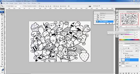 aplikasi membuat doodle membuat doodle nama dengan photoshop
