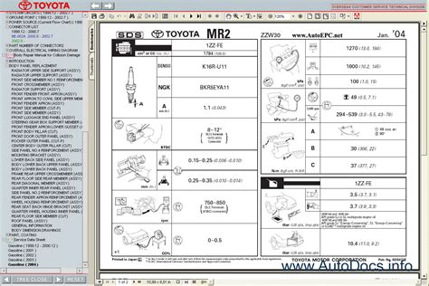 car repair manuals online pdf 2005 toyota mr2 interior lighting service manual 2005 toyota mr2 owners repair manual 1986 toyota mr2 repair shop manual original