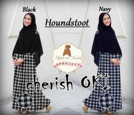 Cherish Oki Muslim Set baju gamis modern cherish oki houndstoot busana muslim