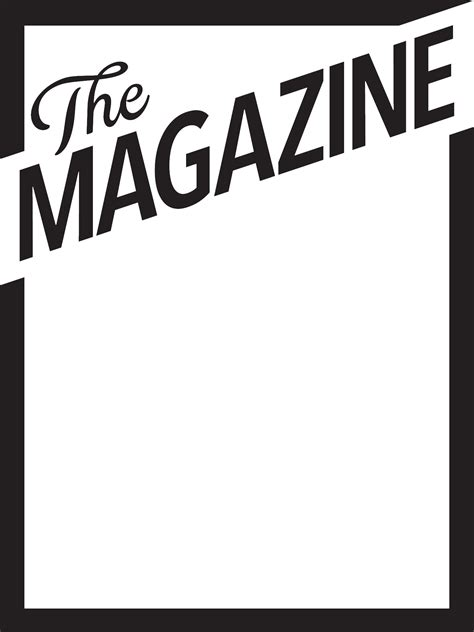 download magazine cover template for free tidyform