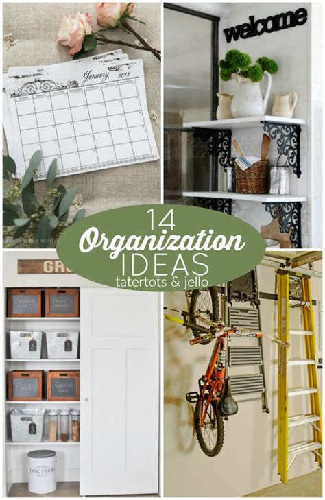 great ideas 14 organization ideas