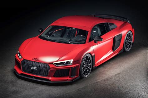 Abt Audi by Official 2017 Abt Audi R8 V10 Gtspirit