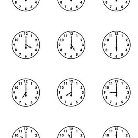 Free Printable Clock Worksheets by Printable Clock Faces Free Printable Worksheets Tip Junkie