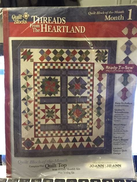 Quilting From The Heartland by 1000 Images About Quilt Kits Block Of The Month On