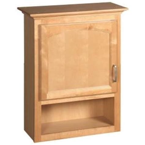 Bathroom Shelves Home Depot Design House Belmont 23 3 4 In W Bath Storage Cabinet In Maple Discontinued 534867 At The Home