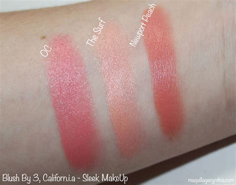 Sleek Makeup Blush By 3 Californ I A nouveaut 233 s printemps de sleek makeup maquillage cynthia
