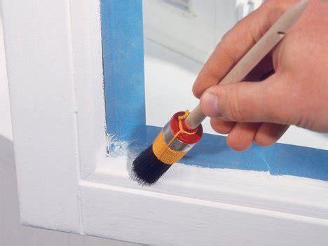 Fenster Lackieren Ohne Abkleben by Fenster Richtig Streichen