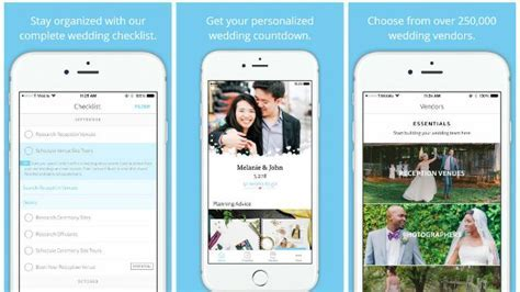 10 Great Wedding Apps to Help You Plan Your Big Day