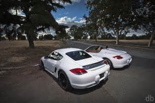 Porsche Cayman Vs Boxster Porsche Cayman R Vs Boxster Spyder Explore