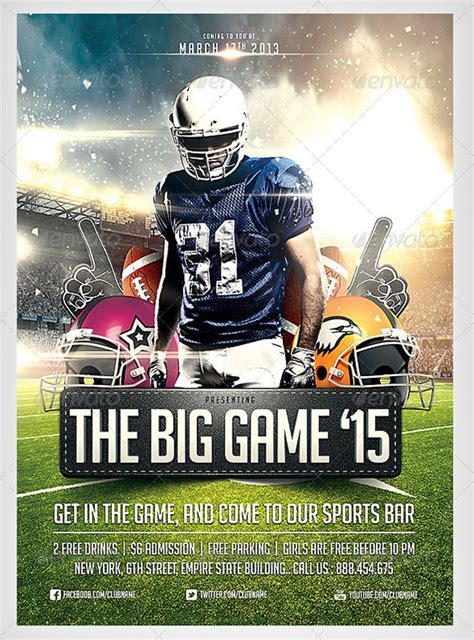 football flyer template 22 football flyer templates psd eps ai indesign