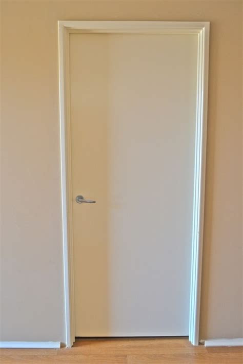 Renovating A Bathroom metal door frames or timber architrave