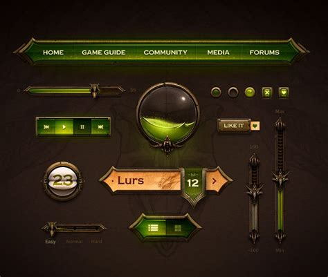 design game gui 22 best images about game interface on pinterest user