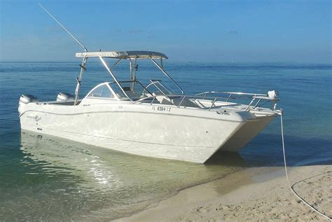 boats world rent a world cat 250dc 27 motorboat in key west fl on sailo