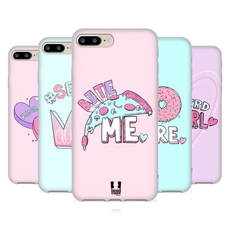 Iphone 7 Plus Soft Pastel Casing Silikon Cover Armor designs pastel overlays soft gel for apple iphone 7 plus ebay