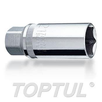 Kunci Socket 1 2 Magnetic Spark Socket Thin Wall spark sockets toptul the of professional tools