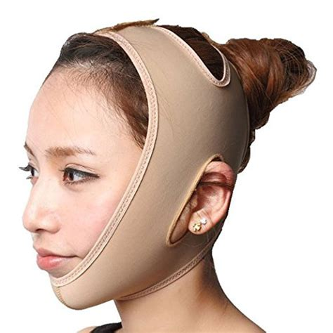 chin strap sagging jowls amazon com facial slimming chin strap anti aging chin