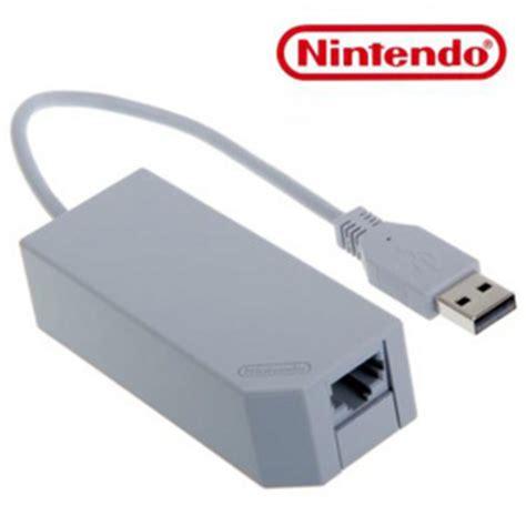 Adaptor Nintendo Wii Official Nintendo Wii Lan Adapter