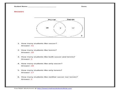 venn diagram questions with answers math venn diagram worksheets venn diagram worksheets 3rd
