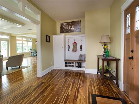 craftsman style flooring foyer pictures from blog cabin 2014 diy network blog