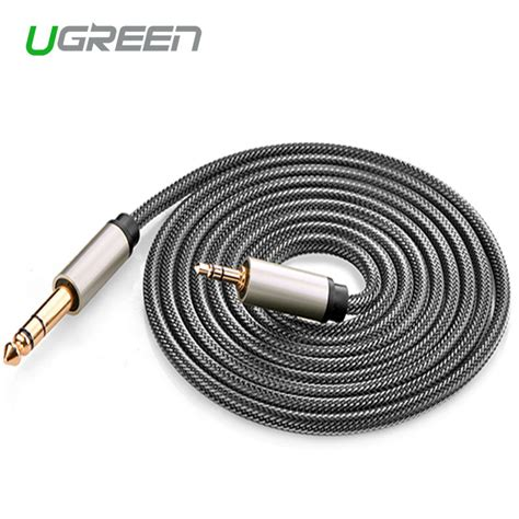 Akai 6 3 Mm To L3 5mm Setereo 2 Meter ugreen 3 5mm to 6 5mm stereo audio cable for mixer lifier to 2m 3m 5m 10m aux braid