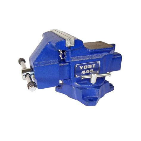 yost bench vise yost 5 in heavy duty combination pipe and bench vise