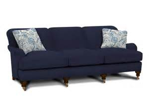 Bench Slipcover Dark Blue Sofa Home Furniture Design