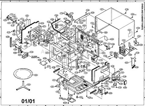 sharp microwave parts diagram image gallery microwave parts