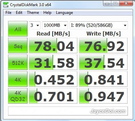 crystal disk bench benchmark hard disk ssd secure digital compact flash card with crystaldiskmark
