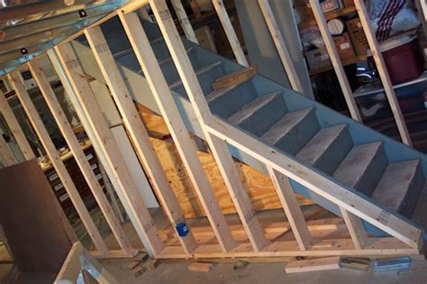 how to frame a basement wall step by step basement